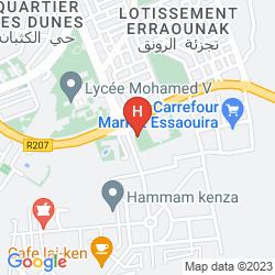 Mappa IBIS MOUSSAFIR