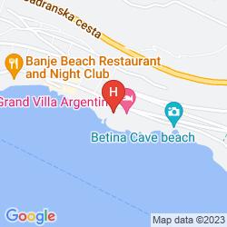 Mappa VILLA GLAVIC