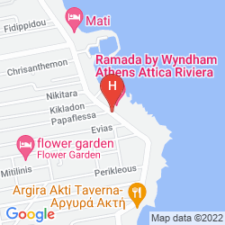 Mappa RAMADA ATTICA RIVIERA