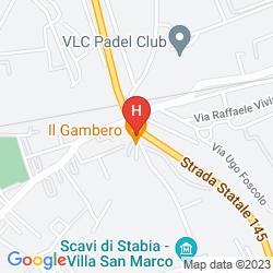 Mappa LA MEDUSA HOTEL & BOUTIQUE SPA