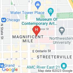 Mappa HAMPTON INN CHICAGO DOWNTOWN/MAGNIFICENT MILE