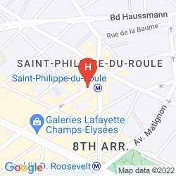 Mappa ROCHESTER CHAMPS ELYSEES