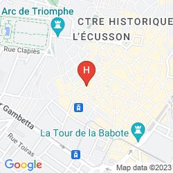 Mappa KYRIAD PRESTIGE MONTPELLIER OUEST - CROIX D'ARGENT