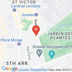 Mappa TIMHOTEL JARDIN DES PLANTES
