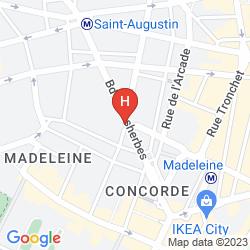 Mappa WALDORF MADELEINE