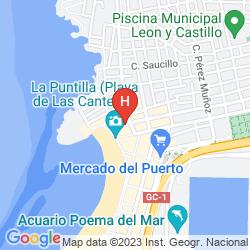 Mappa APARTAMENTOS TINOCA
