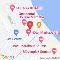 Mappa MARHABA BEACH
