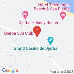 Mappa JERBA SUN CLUB