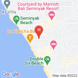 Mappa PELANGI BALI HOTEL & SPA