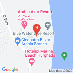 Mappa ARABELLA AZUR RESORT
