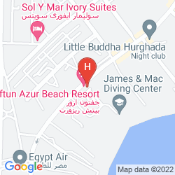 Mappa GIFTUN AZUR RESORT