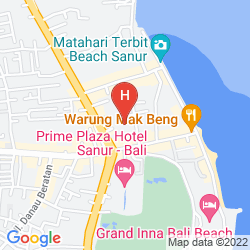 Mappa SRI PHALA RESORT AND VILLA