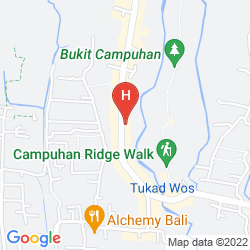 Mappa TJAMPUHAN HOTEL & SPA