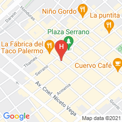 Mappa ULTRA HOTEL BUENOS AIRES