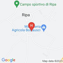 Mappa RIPA RELAIS COLLE DEL SOLE
