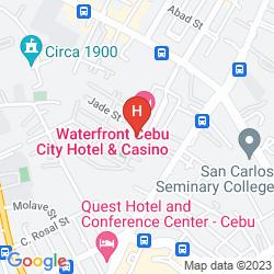 Mappa WATERFRONT CEBU CITY HOTEL & CASINO