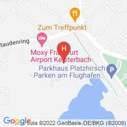 Mappa MERCURE HOTEL FRANKFURT AIRPORT