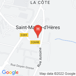 Mappa CAMPANILE GRENOBLE SUD - SAINT MARTIN D'HERES
