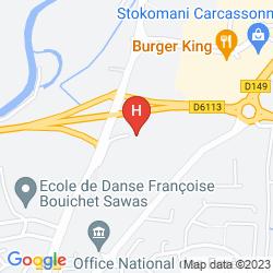 Mappa CERISE CARCASSONNE NORD