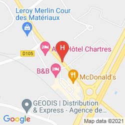 Mappa IBIS STYLES CHARTRES