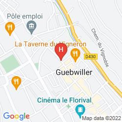 Mappa HOTEL ARCANTIS D'ALSACE