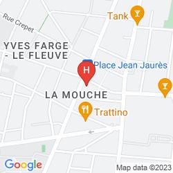 Mappa RESIDHOME APPART HOTEL LYON GERLAND