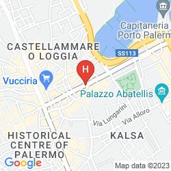 Mappa B&B HOTEL PALERMO QUATTRO CANTI