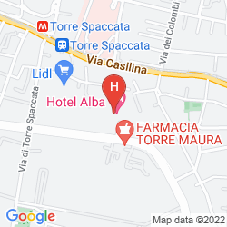 Mappa ALBA HOTEL TORRE MAURA