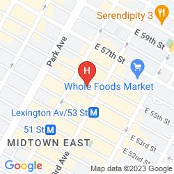 Mappa CARVI HOTEL NEW YORK