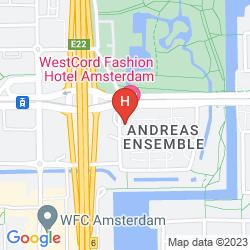 Mappa WESTCORD FASHION HOTEL