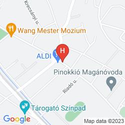 Mappa HOTEL PANDA