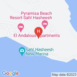 Mappa DESSOLE PYRAMISA SAHL HASHEESH
