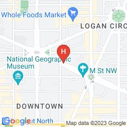 Mappa HOMEWOOD SUITES BY HILTON WASHINGTON, D.C. DOWNTOWN