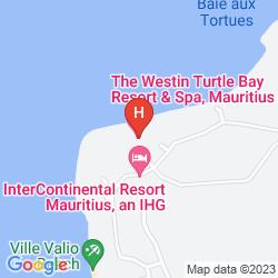 Mappa THE WESTIN TURTLE BAY RESORT & SPA