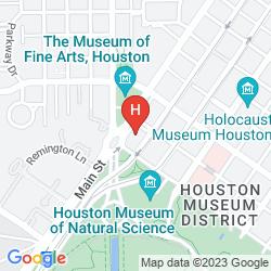 Mappa ZAZA HOUSTON MUSEUM DISTRICT