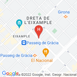 Mappa RENAISSANCE BARCELONA