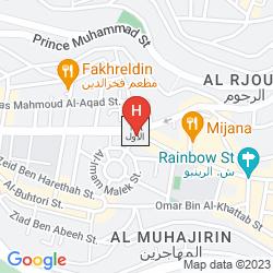 Mappa CROWNE PLAZA AMRA