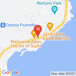 Mappa PLAZA HOTEL CATANIA