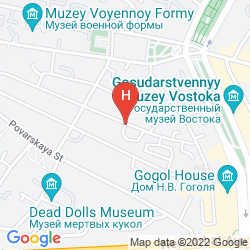 Mappa ARBAT HOUSE