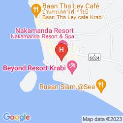Mappa BHU NGA THANI RESORT AND SPA