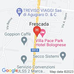 Mappa VILLA PACE PARK HOTEL BOLOGNESE