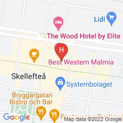 Mappa BEST WESTERN MALMIA