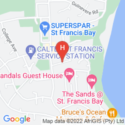 Mappa SANDALS GUEST HOUSE