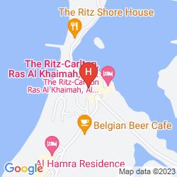 Mappa HILTON AL HAMRA BEACH & GOLF RESORT