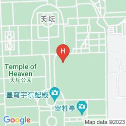 Mappa XI ZHAO TEMPLE HOTEL