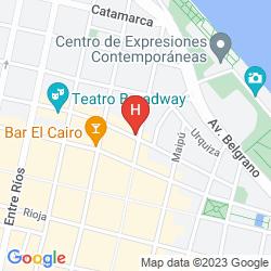 Mappa ESPLENDOR BY WYNDHAM SAVOY ROSARIO