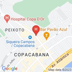 Mappa ATLANTICO COPACABANA