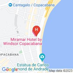 Mappa MIRAMAR HOTEL BY WINDSOR