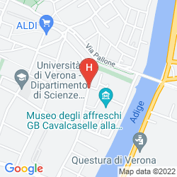 Mappa BEST WESTERN HOTEL DE' CAPULETI
