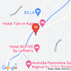 Mappa JUFA HOTEL KAPRUN